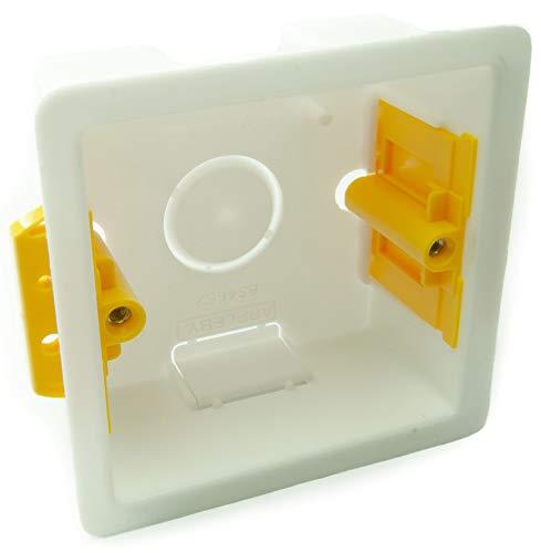 CDL Micro Single Trockenbau Einbaubox/35 mm 1 Fach Schablone Box
