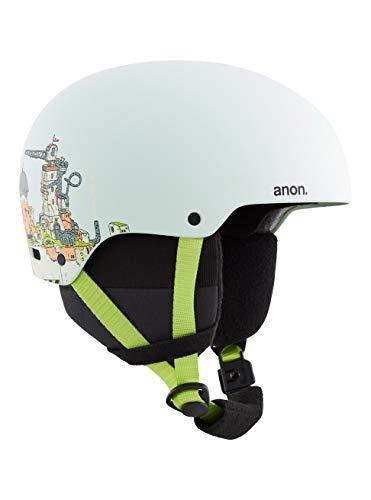 Anon Mädchen Rime 3 Snowboard Helm, Bot Blue, Mittelgroß