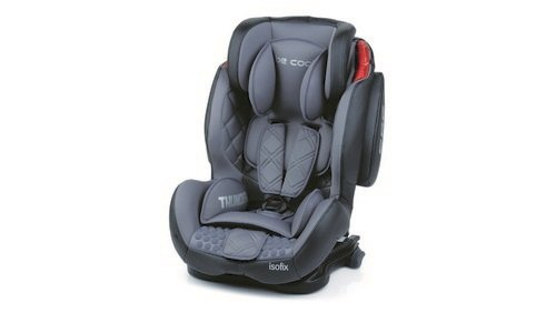 Be Cool by Jane Seggiolinio auto isofix Thunder SPS gruppo 1-2-3 (9-36 kg) Moonlight 2015