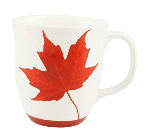 McIntosh Memories Of Canada (12.17 oz) Fine Bone China Java Mug in Matching Gift Box