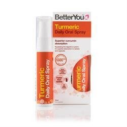 BetterYou Turmeric Daily Oral Spray 25 Millilitre  Pack of 6