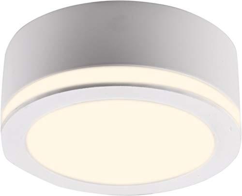 Heitronic LED Deckenstrahler LED AUFBAUSTRAHLER 10W WW+LICHTKRANZ   LEDs fest verbaut 10W   27777