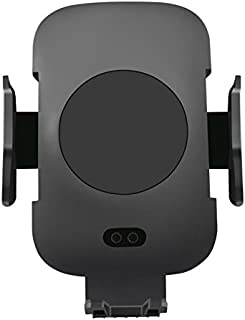 Wireless Car Charger Mount Holder for Cell Phone, Infrared Sensor Built-in to Auto Lock, One Hand Operation, Qi Wireless Charger for iPhoneXs/Xs Max/X/8/8 Plus/Samsung S9/S9+/S8+/S8