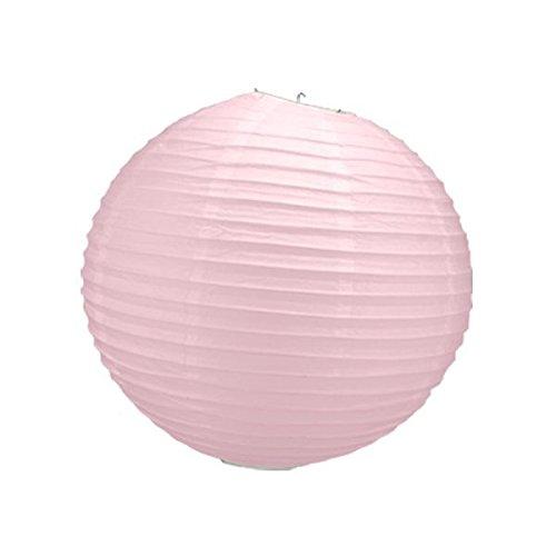 Générique Lanterne Boule Papier Rose Pale 50 CM