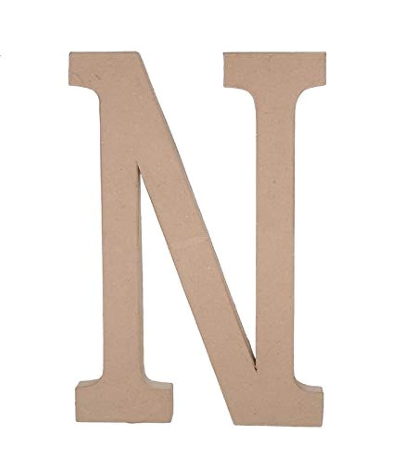 Darice 2860-N Paper Mache Letter N 23.5In
