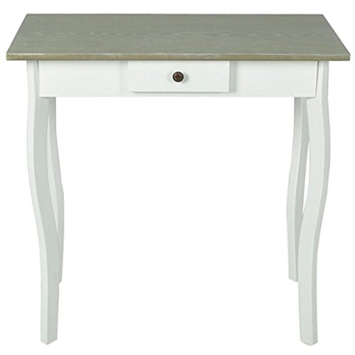 vidaXL New White Console Hall Side Table Bedside 1 Drawer French Furniture Provincial