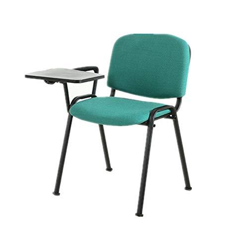 CHENSHJI (56x49x81cm) Innen-Multi-Use-ergonomischen Bürostuhl Sitzkissen Designer-Küche Büro, Etc. (5 Farben) Frame Folding Rückenlehne Stuhl (Color : Blue, Size : 56x49x81cm)