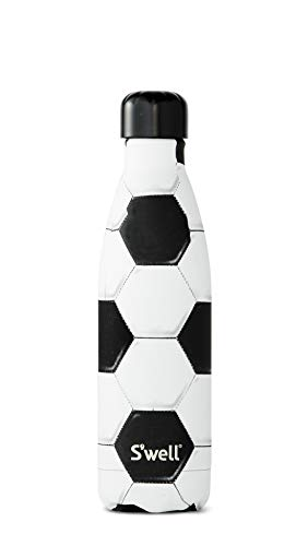S'well 10017-B19-34510 Stainless Steel Water Bottle, 17oz, Goals