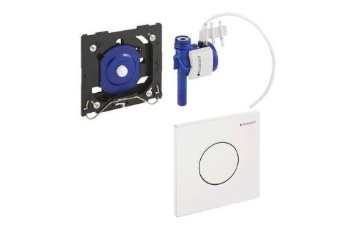 Geberit Urinal-Handauslösung HyTouch pneumatisch, Design Sigma01 weiß,116.011.11.5