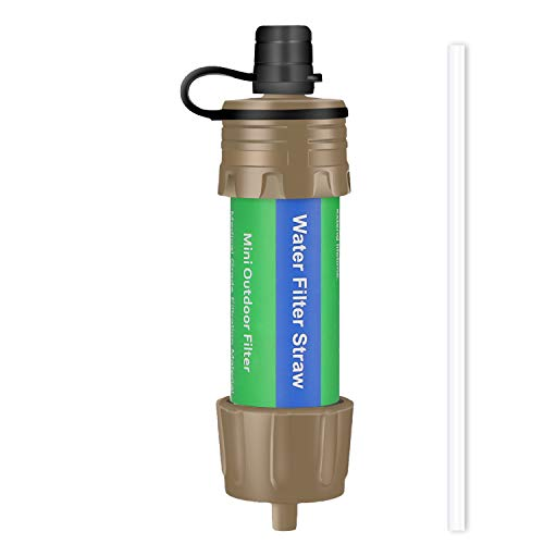 Purewell Portable Water Filter Straw - Key Features