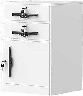 Classeurs Accueil de Bureau Armoire de Rangement avec Verrouillage Locker métal Stockage Protection Documents Importants É...