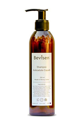 Bevisen Anti Hair Thinning Shampoo, 5% Saw Palmetto and Azelaic Acid Suspension, SLS and Dye Free, Designed with Natural DHT Blockers