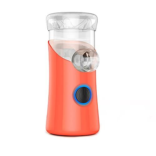 Mini inhalador atomizador, humidificador por evaporador de vapor personal de mano con cargador USB, Con máscara y boquilla. Para niños y adultos.