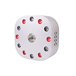 SUPERSRED 300W Red Light Therapy Device COB Spotlight?Red 630nm 660nm Near Infrared 850nm?High Irradiance for Skin
