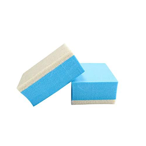 Yue668 - Esponja, suministros de limpieza, bloque de arcilla mágica de bloque de protección de coche, goma para borrar la herramienta de protección de cera polaca