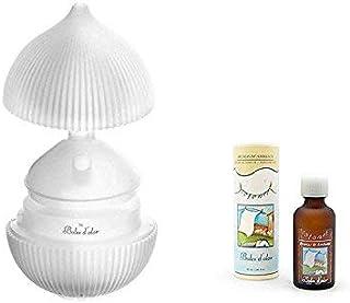 BOLES D'OLOR Brumizador Ultrasónico Padma Flor de Loto + Brumas de Ambiente Cotonet. Difusor de Aromas, Purificador de Aire y Humidificador