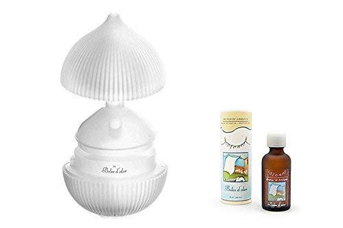 Boles D Olor brumizador ultraljud Padma lotusblomma + omgivande BRUMAS COTONET. Doftspridare, luftrenare och luftfuktare