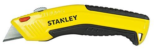 Stanley 0-10-237 mes (met intrekbaar lemmet en automatische aanschuifbare lemmet, ergonomisch design