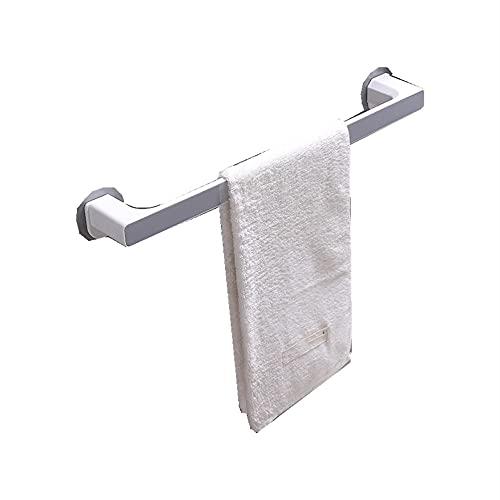 ReedG Toallero Toallero sin Golpe de Toalla chupador de baño Barra de Toalla de baño Simple Baño Toalla Rack Montado en la Pared (Color : Gray, Size : One Size)