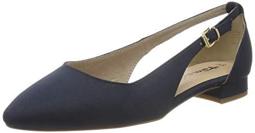 Tamaris Damen 1-1-22112-24 Geschlossene Ballerinas, Blau (Navy 805), 39 EU