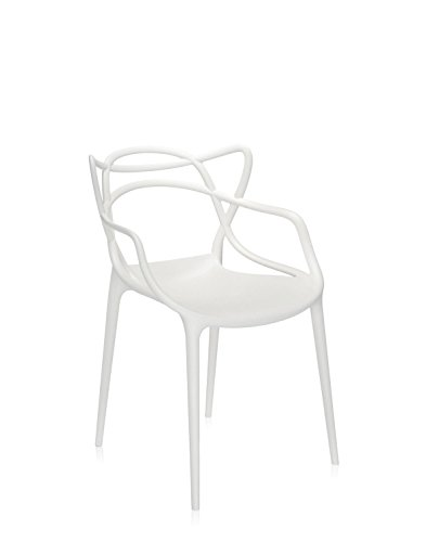 Kartell Masters Chair - Matte White - Pack of 2