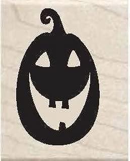2014 Studio G Halloween Wooden Stamp - Jackolantern