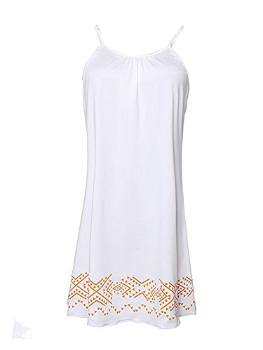 Women Beach Spaghetti Strap Casual Mini Dress