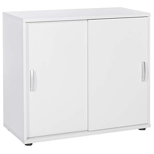 Möbelpartner Schiebetürenschrank PICO | HxBxT 780 x 850 x 395 mm| lichtgrau