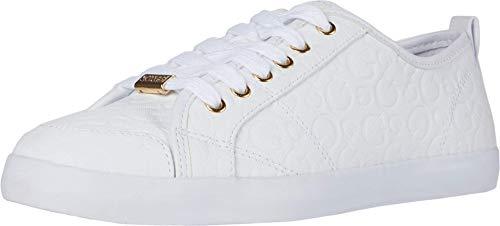 GUESS Damen Goodly Sneaker, Weiß (Weiß (1)), 41 EU