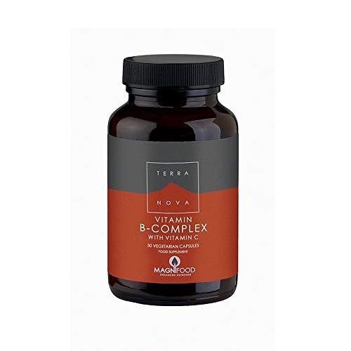 Terra Nova B Complex with Vitamin C (50 Vegetarian Capsules)