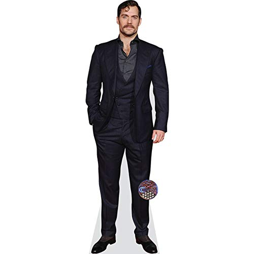 Celebrity Cutouts Henry Cavill (Suit) Pappaufsteller lebensgross