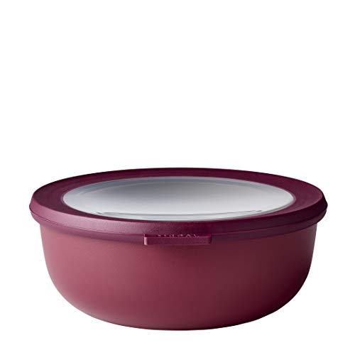 Rosti Mepal Cirqula Multi Food Storage and Serving Bowl with Lid 12L13Q Berry