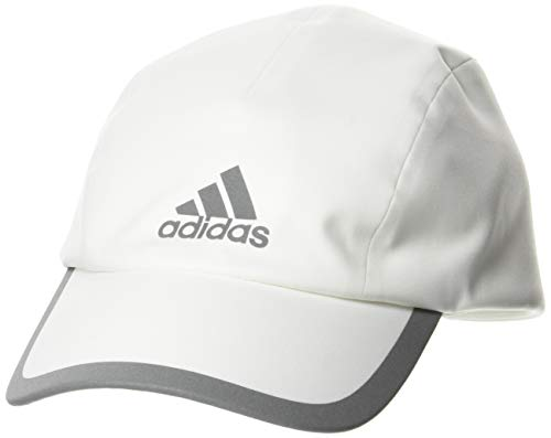 adidas Run Bonded Cap Gorra, Unisex Adulto, Blanco/Blanco/Refsil, Talla Única