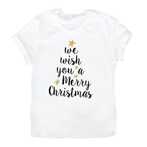 VJGOAL Donna 2019 Nuovo Natale T-Shirt con Divertente Lettera - all My Friends Are Feakes - per...