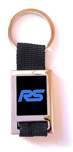 Sleutelhanger Sport GT Ford RS zwart (metaal/stof)