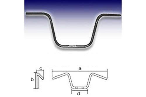 FEHLING Lenker Black APE Hanger Middle 1 Zoll, H31