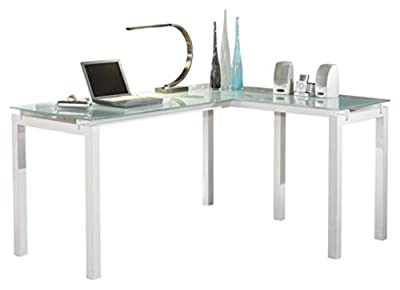 Signature Design by Ashley Baraga L-Desk White