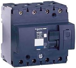 Schneider Electric 18818 Interruptor Automático Magnetotérmico, NG125L, 4P, 80A, Curva C