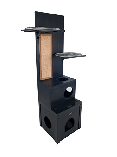 ecoFLEX Kitty Klimber - Cat Tree - Espresso