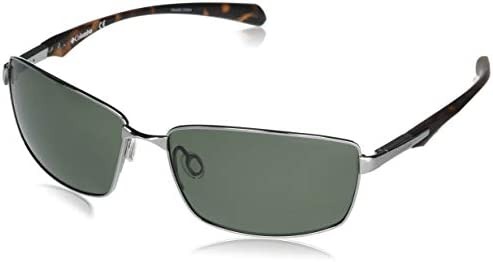 Columbia Men s Trollers Best Rectangular Sunglasses Gunmetal G15 Polarized 62 mm product image