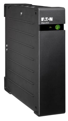 Eaton Ellipse ECO 1600 USB DIN - Unterbrechungsfreie Stromversorgung (USV) 1600 VA mit Überspannungsschutz (8 Schuko Ausgänge)