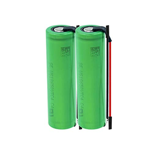 HTRN 3.6v 2100mah 8650vtc4 Batterie, Wiederaufladbare Batterien + DIY Linie für Taschenlampe 2PCS