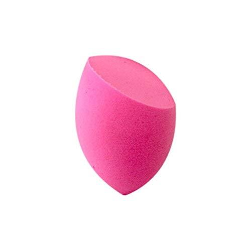 Poudre Puff Beauté Egg Cut Forme Bevel Portable Option Multi-Couleurs sans Latex Outils de Maquillage Beauté Naturelle 1pc Hydrophile Souple (Couleur : Rose)