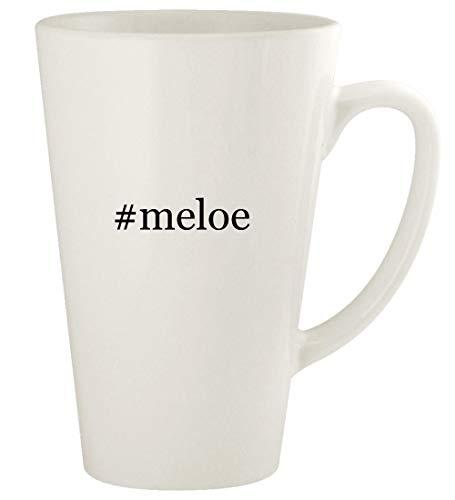 #meloe - 17oz Hashtag Ceramic Latte Coffee Mug Cup, White