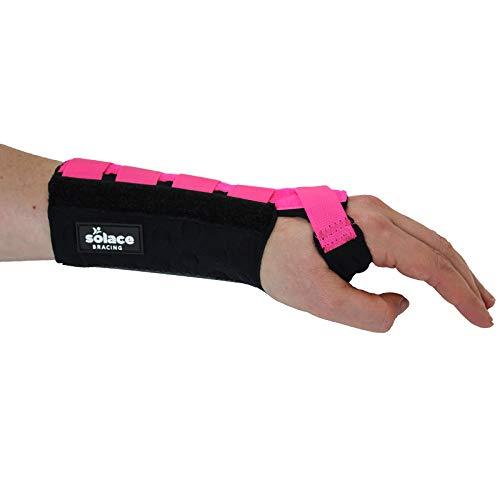 Solace Bracing Wrist Support Carpal Tunnel Gym Hand Keyboard Sprain Strain...