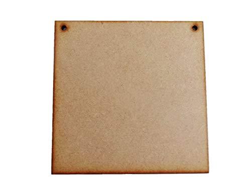 22mm MDF Platte 100x50 cm roh
