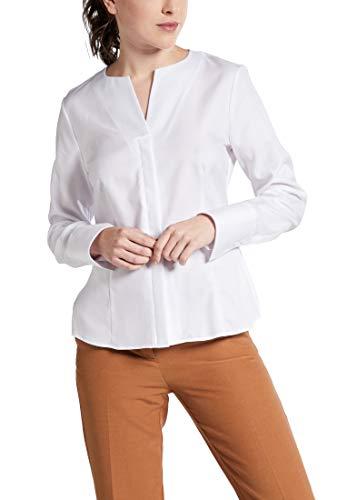 eterna Langarm Bluse Modern Classic strukturiert