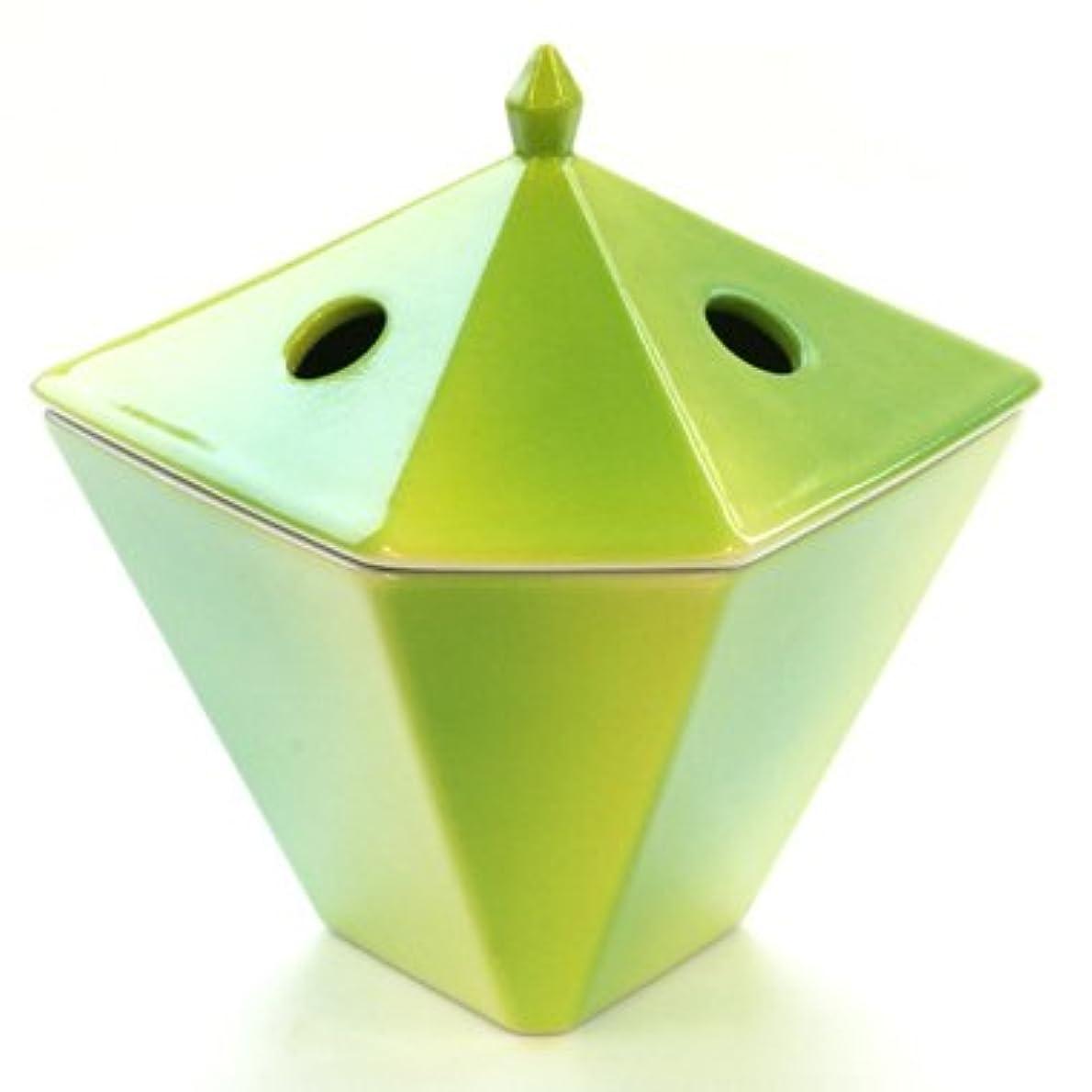 すべきウィザードフラップ縁香炉 黄緑