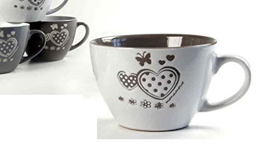 GICOS SRL Tazzone Latte Cuori 400 ml gic