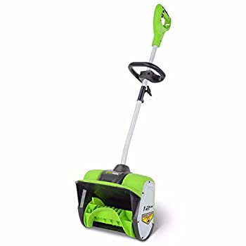 Lightweight electric snow mover, plastic